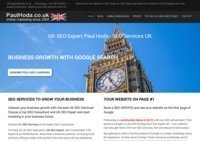 SEO Consultant - SEO Services UK Paul Hoda