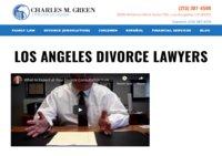 Los Angeles Divorce Lawyer | Charles M. Green APLC