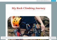 My Rock Climbing Journey