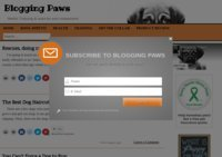 Blogging Paws
