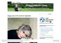 DoggyMom:  Dog lifestyle and everything else for the dog owner