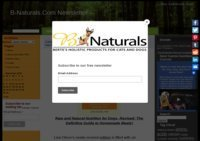 Natural dog health, nutrition and supplement education