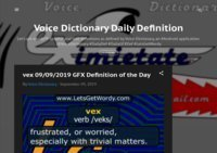 Voice Dictionary Daily Def