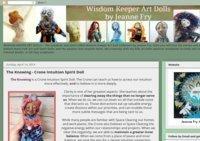 Wisdom Keeper Art Doll Blog