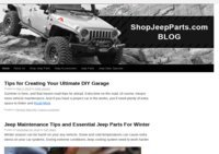 Jeep Parts and Jeep Accessories Blog