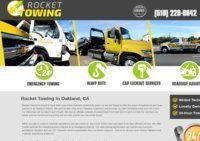 Rocket Towing in Oakland, CA   24/7 Professional Towing Service