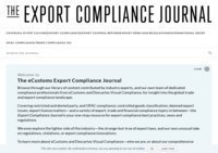Export Compliance Journal, The