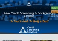 AAA Credit Screening Services & Background Checks