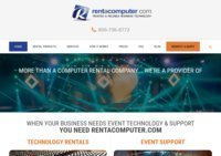 Computer Rentals: IT & AV from Rentacomputer.com Worldwide