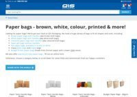 QIS Packaging Paper Bags