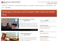 Bankruptcy and Consumer Debt Advocates