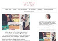 Hot Hair Stylers Reviews and Hair Styling Tutorials