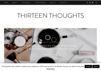 Thirteenthoughts... beauty, lifestyle and girl-talk blog