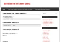Bad Fiction by Shane Zentz