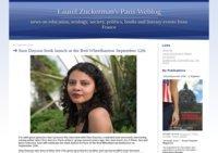 Lauerl Zuckerman's Paris Weblog