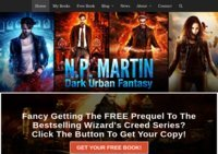 N. P. Martin|Urban Fantasy Author