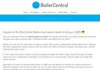 Best Combi Boilers
