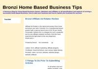 Bronzi Home Based Business Tips