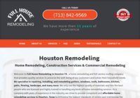 Remodeling Company Houston | Full House Remodeling | (713) 922-3283