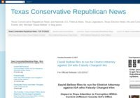 Texas Conservative Republican News