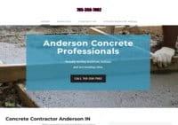 Concrete Contractor Anderson Indiana