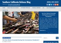 Southern California Defense Blog