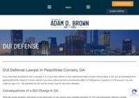 The Law Office of Adam D Brown Criminal Defense Attorney