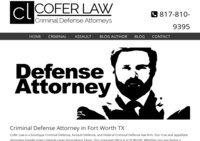 Cofer Law | Fort Worth Criminal Defense Attorneys