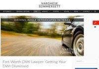 Fort Worth DWI Lawyers
