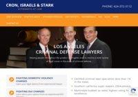 Los Angeles Criminal Defense Attorney - Cron, Israels & Stark