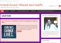 Brandi Rowell Health And Fitness