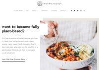 Nutriciously - Plant-Based Recipe Blog