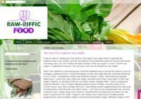 The Raw-Riffic Food Site