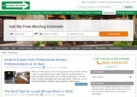 Moving Cost Blog at MyMovingReviews