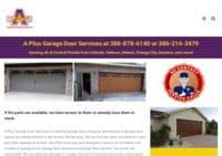 A Plus Garage Door Service