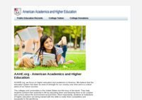 American Academics and Higher Education