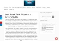 Best Shark Tank Products