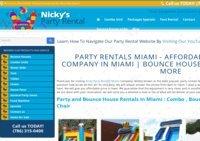 Nicky Party Rental Miami