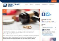 Family Law Brief