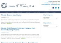 West Palm Beach Divorce Attorney | South Florida Family Lawyers - James S. Cunha, P.A.