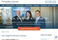 Los Angeles Divorce Lawyer | Fernandez & Karney