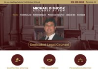 Michael D. Shook, Attorney at law