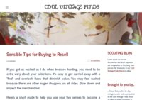Cool Vintage Finds Scouting Blog