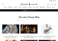 Dress The Art of Wearing Vintage Blog