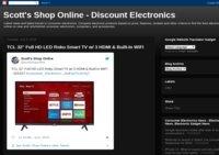 Scott's Online Shopping Blog
