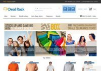 The Deal Rack - Online Discount Clothing