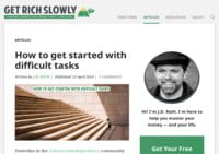 Get Rich Slowly Blog - Personal Finance That Makes Cents
