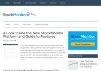 Stock Monitor Blog