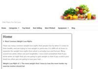 Diet Plans For Fat Loss
