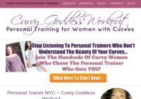 NYC Personal Trainer - Curvy Goddess Workout NYC Personal Training for Women with Curves